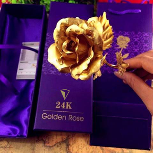 24k Gold Foil Rose: The timeless gift that never fades Exfitbell