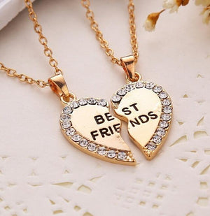 Gold Best Friends Necklace - Gold Version