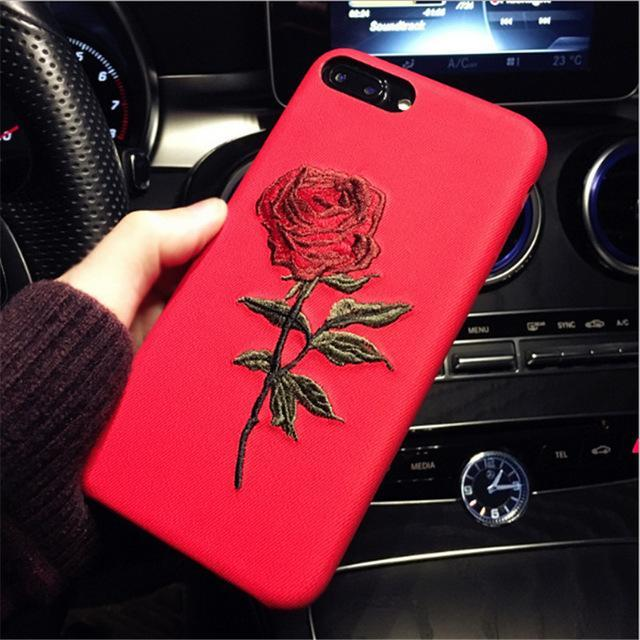 Rose Case for iPhone Exfitbell