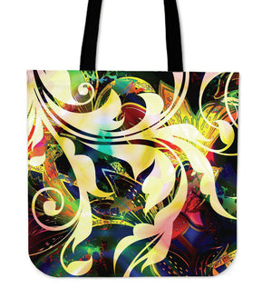 Shopeholic:Multicolored Tote Bag