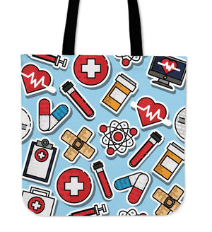 Shopeholic:Nurse Tote Bag