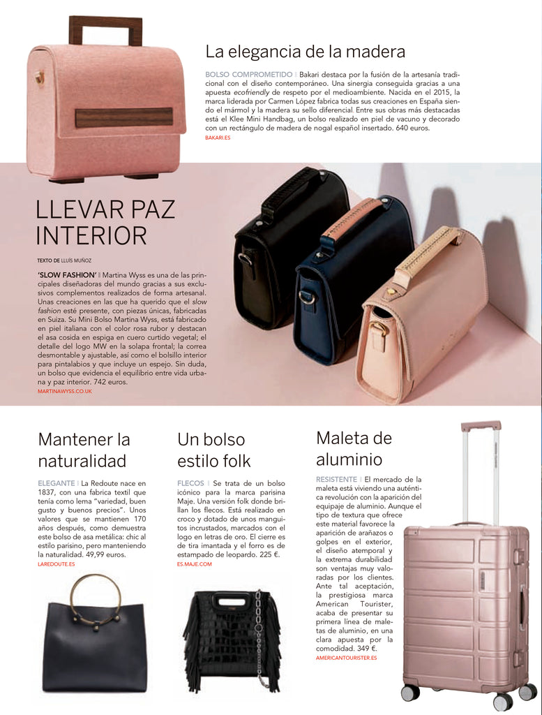 Martina Wyss Elise Mini Satchel - El Periodico Exclusive