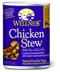 Wellness Chicken Stew with Peas & Carrots - Push Pets Singapore