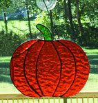 Stained Glass Autumn Pumpkin