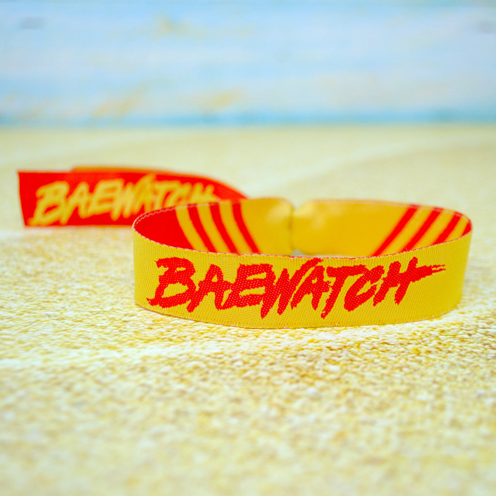 Baywatch Party Theme Wristbands
