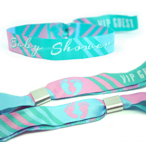 Baby Shower Wristbands Party Favours