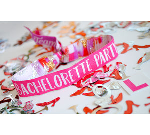 Bachelorette Party Wristbands