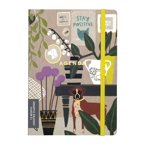 Anne Bentley Inspired Life Gilded Undated Planner Planners Galison
