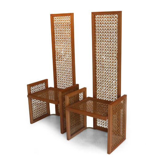 Pair Of Wicker Chairs