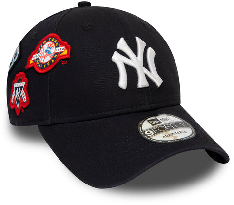 NY Yankees Cooperstown Patched New Era 940 Baseball Cap