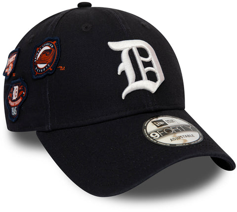 Detroit Tigers Cooperstown Patched New Era 940 Baseball Cap - pumpheadgear, baseball caps