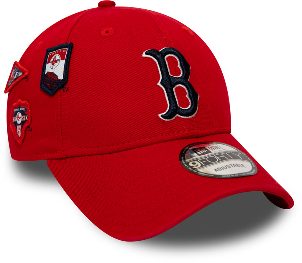Boston Red Sox Cooperstown Patched New Era 940 Baseball Cap - pumpheadgear, baseball caps