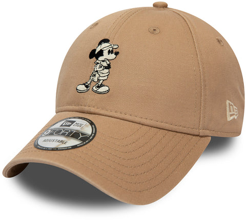 Street Mickey New Era 940 Camel Baseball Cap