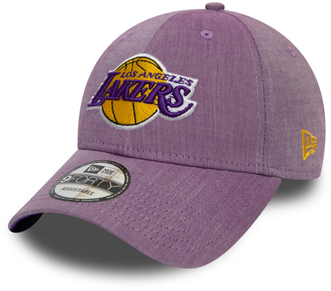 Los Angeles Lakers New Era 940 Chambray League NBA Cap
