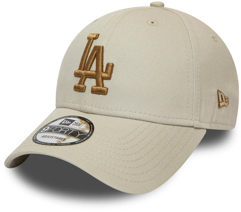 LA Dodgers New Era 940 League Essential Stone Baseball Cap