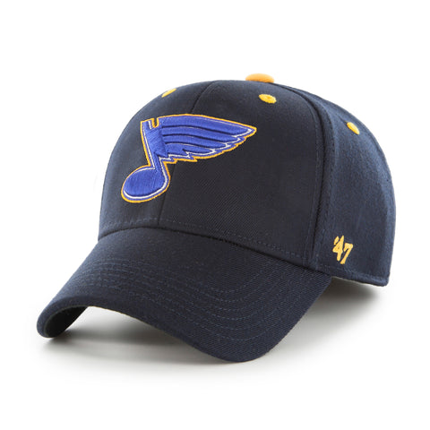 ST Louis Blues 47 Brand Kickoff Stretch Fit NHL Cap