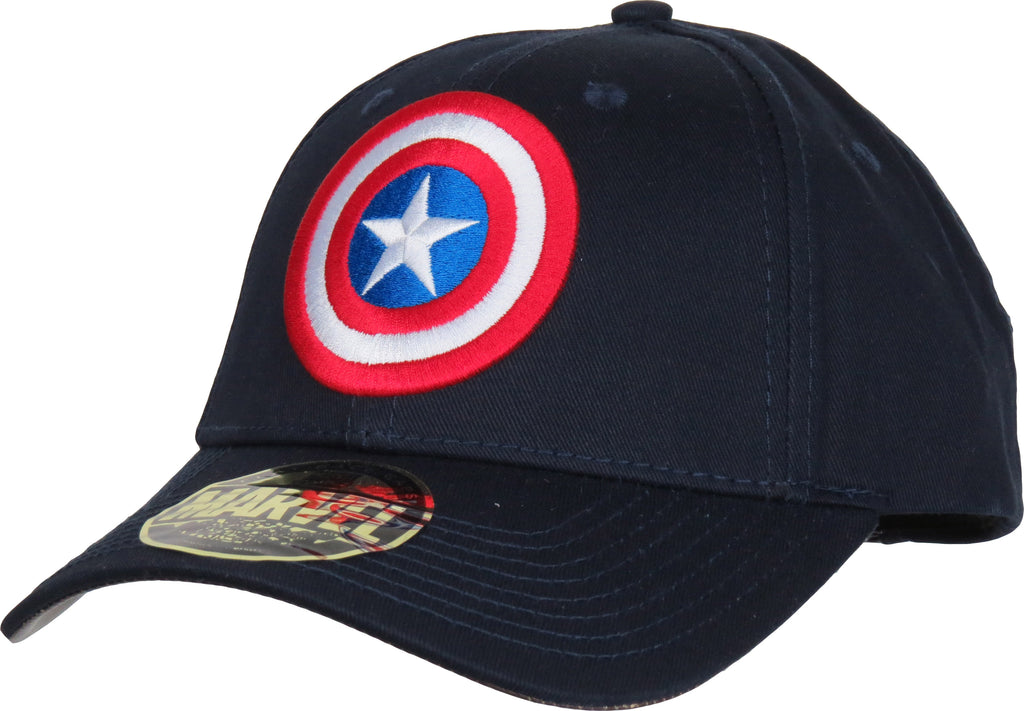 Marvel Comics Captain America Classic Logo Adjustable Cap - pumpheadgear, baseball caps
