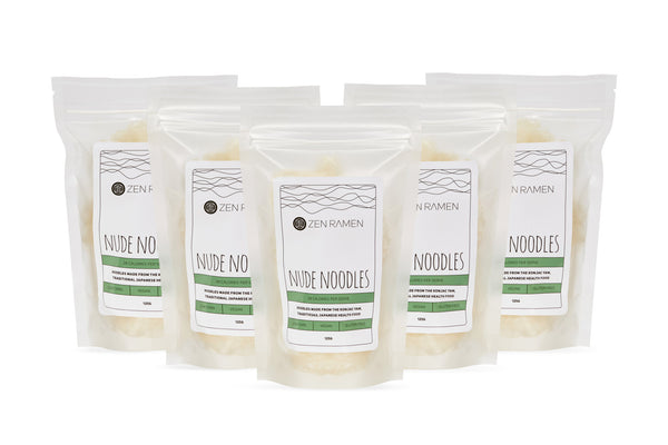 NUDE NOODLES 5 PACK BUNDLE - FREE SHIPPING (SAVE 25%)