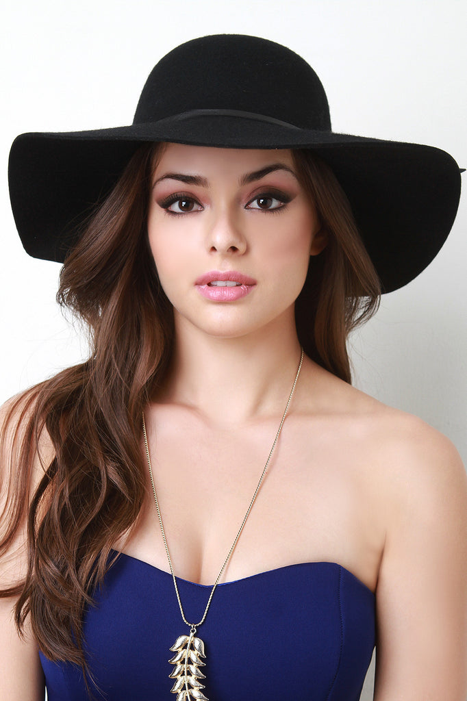 Floppy Wool Hat