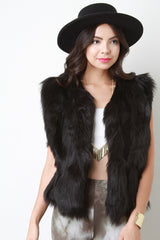Soft Fur Sleeveless Vest