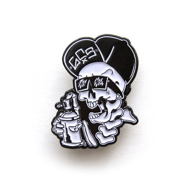 Skull Pin - GCS Clothing