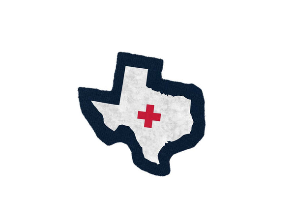 Texas Aid Navy Patch