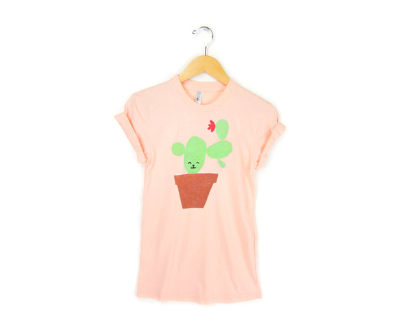 Cactus Friend T-shirt by two string jane