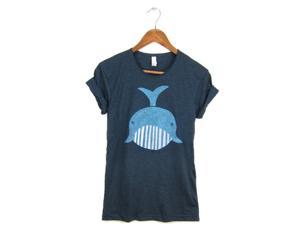 Geo Whale T-shirt by two string jane