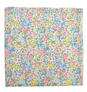 Spring Bloom Pocket Square