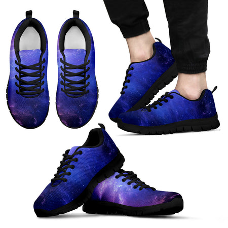 NP Purple Universe Men's Low Top Shoes