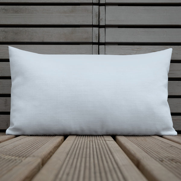 Blanca Ice Blue Premium Pillow