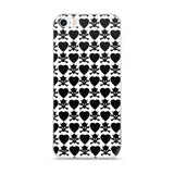 Crowned Skull Badass iPhone Case