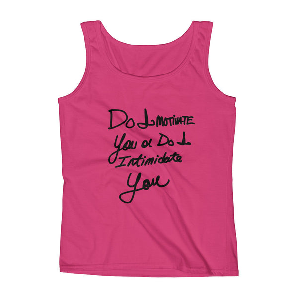 """DO I MOTIVATE YOU"" Tank"