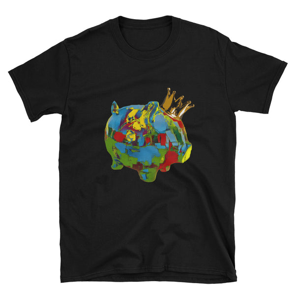 Painter King Piggy Art Tee