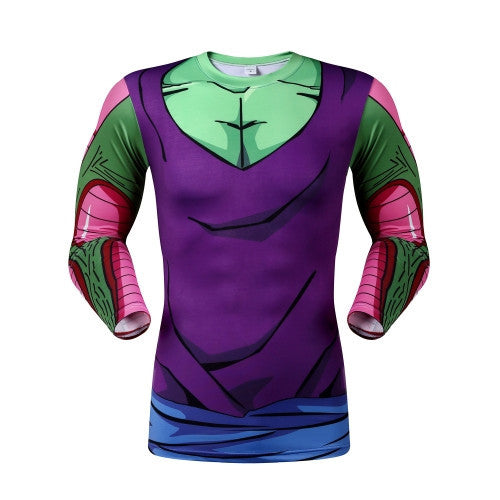 DBZ Piccolo Long-Sleeve Compression Shirt