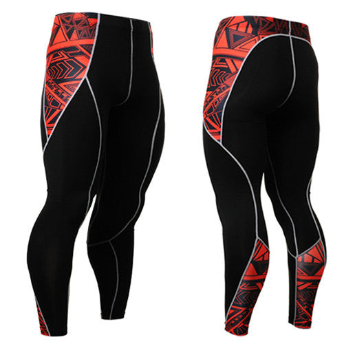 Life on Track Red Warrior Ink Compression Spats