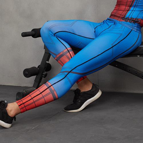 Spiderman Superhero Compression Spats