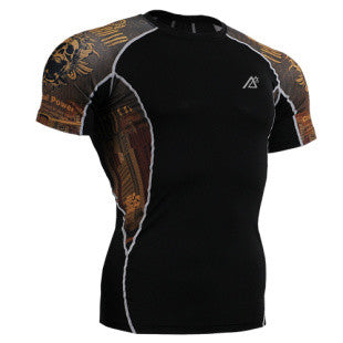 Life on Track Rash Guard - Crossroads