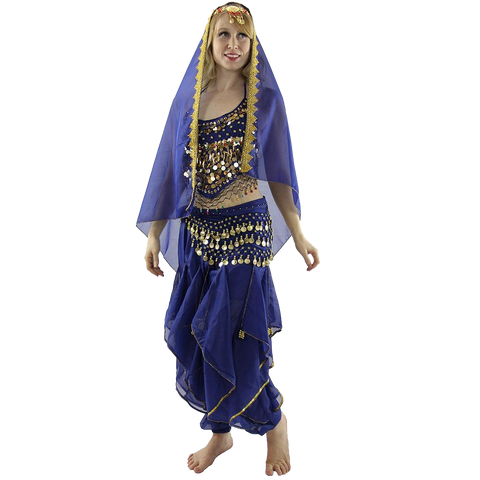 Little chilli 5-Piece Belly Dance Costume