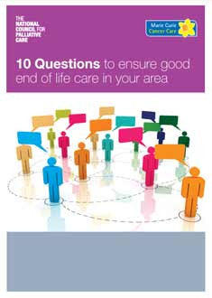 10 Questions to ensure good End of Life care in your area (March 2013)