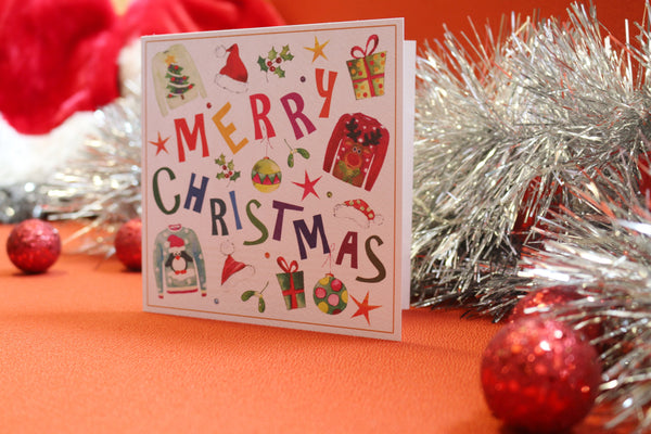 Christmas Mix Christmas Cards - Pack of 10