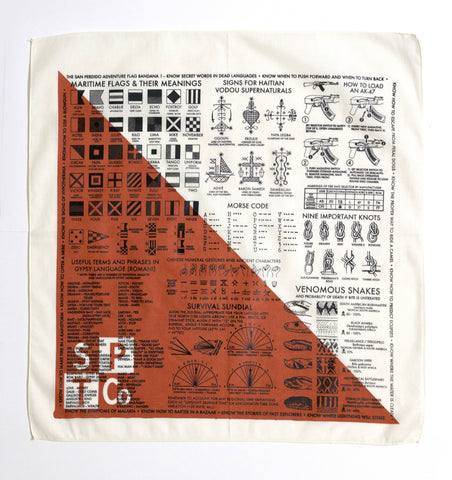 "The San Perdido ""Adventure Flag One"" Bandana"