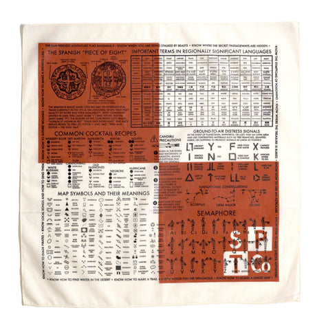 "The San Perdido ""Danger Flag"" (""Adventure Flag Three"") Bandana"