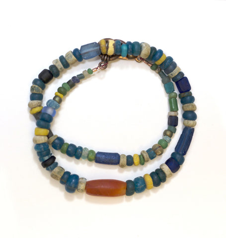 "The Matera ""Kaupo"" Men's Trade Bead Bracelet"