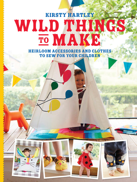 Wild Things to Make sewing pattern book SIGNED COPY