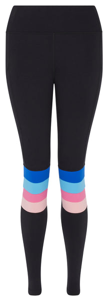 Slalom Leggings w Pocket - Rainbow