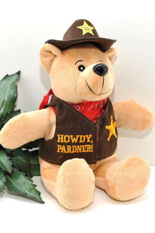 """Boomtown Beary"" Plush"