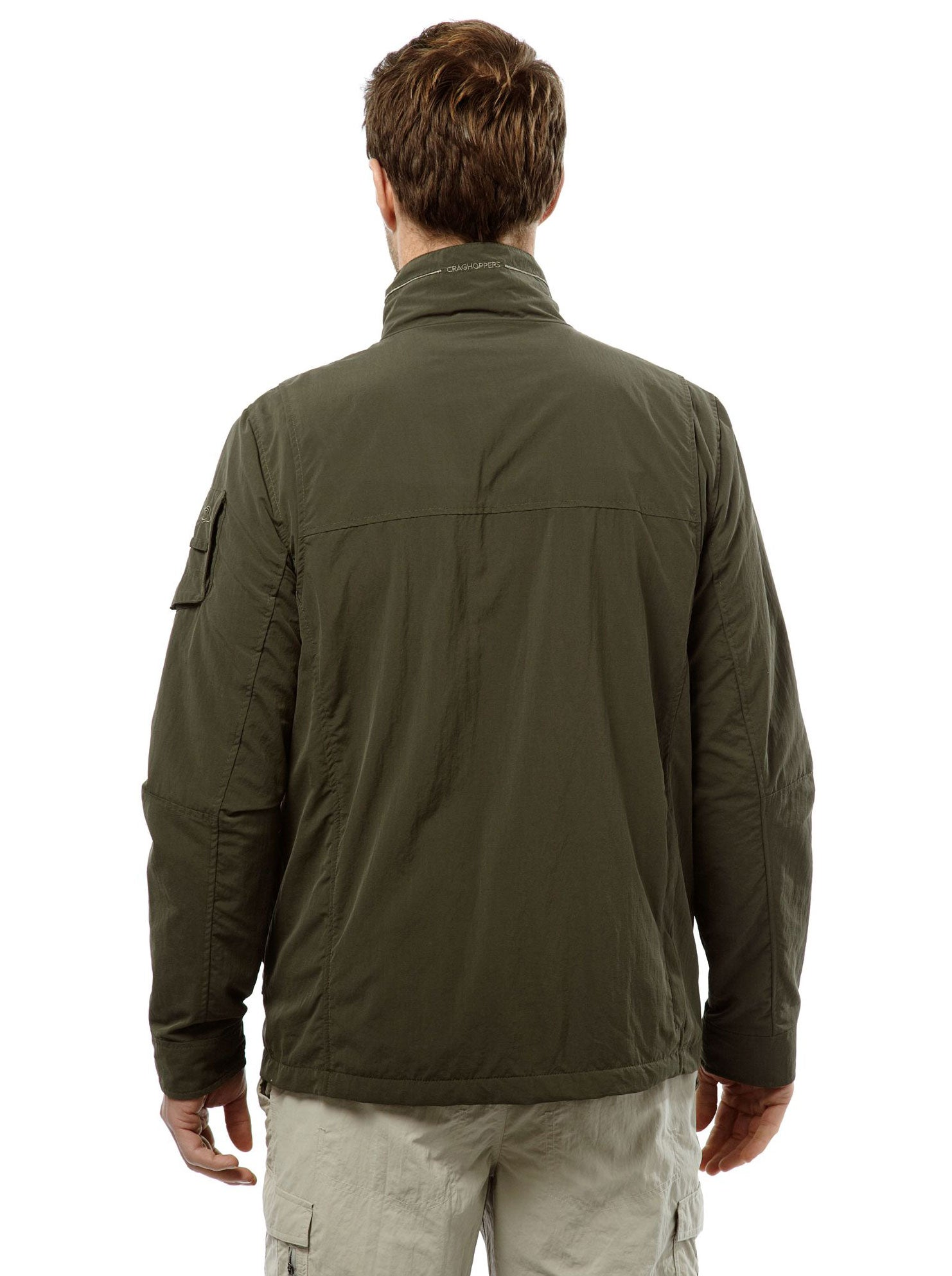 Back View Adventure I Multi-pocket Travel Jacket by Craghoppers