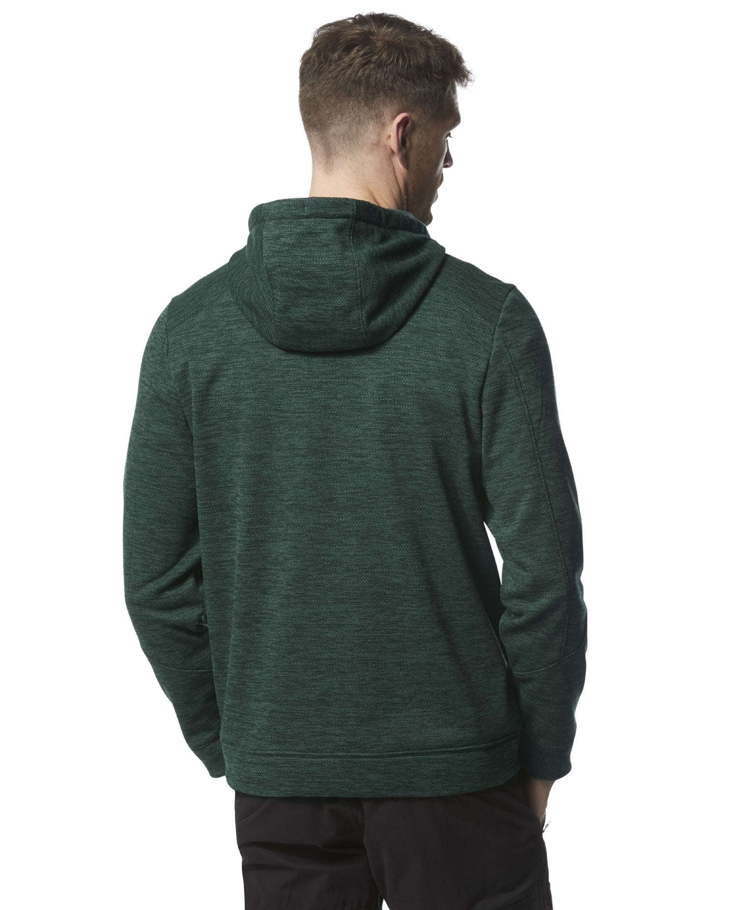 rear view Strata Fleece Hoody by Craghoppers