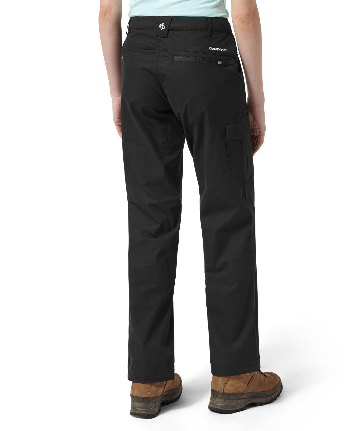 back view Ladies Traverse Trail Trousers by Craghoppers